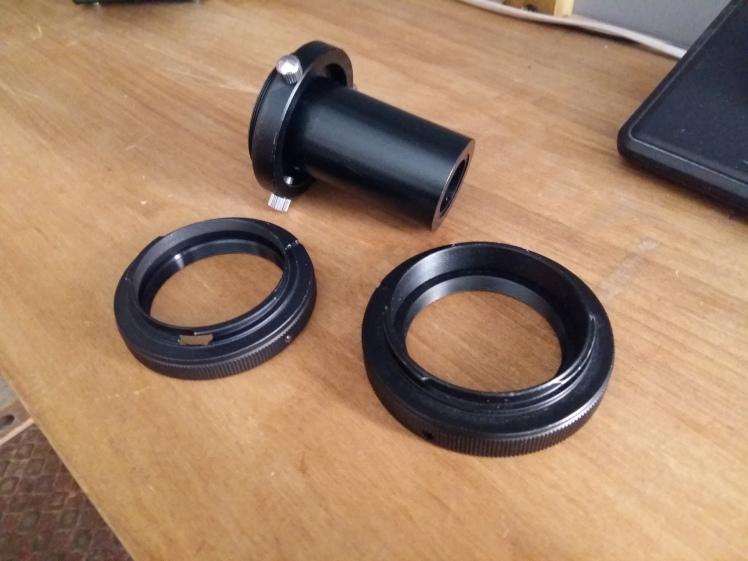 foto 3 - tubos adaptadores y monturas de Pentax y Canon